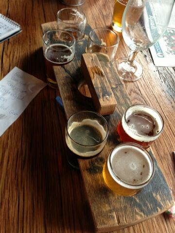 Flight from Wicked Weed
