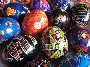psanky eggs