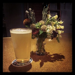 Beer and Flowers