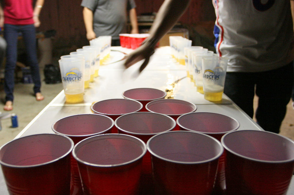 Asheville Beer Week 2014: Beer Pong