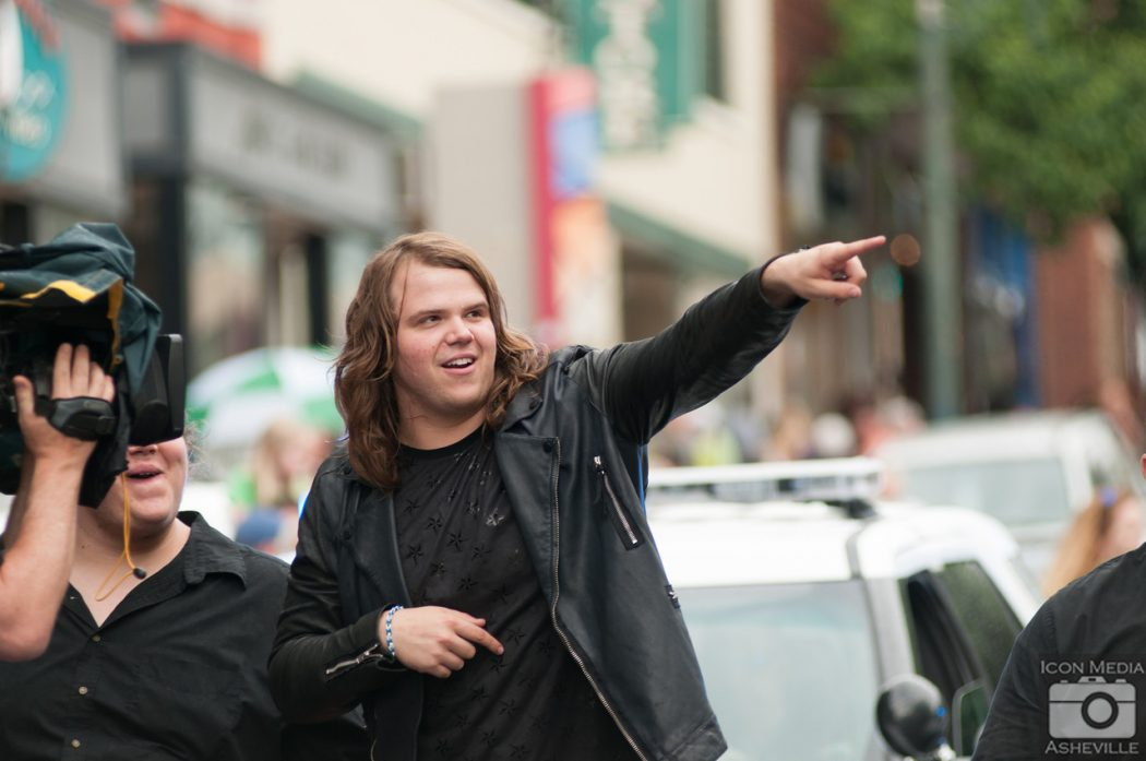 Caleb Johnson in Asheville for American Idol Top 3 Countdown