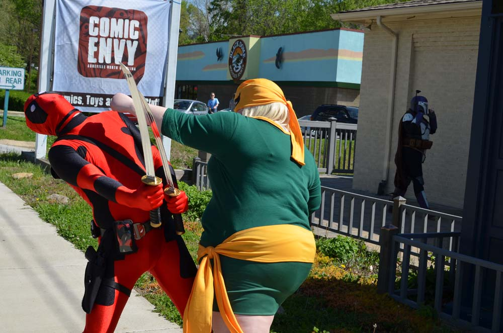 A photographic review of Free Comic Book Day & Spidey-Con
