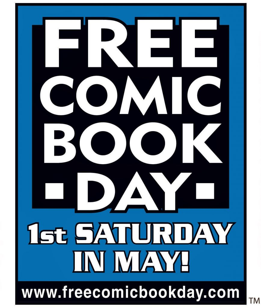 Free Comic Book Day is almost here!