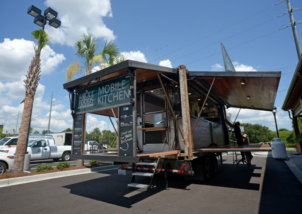 Whole Foods Mobile Kitchen Rolls into Asheville