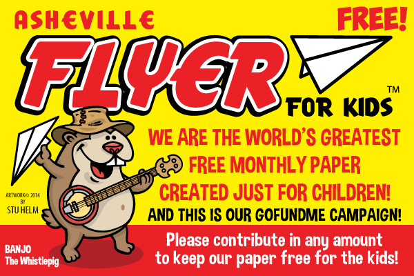 Asheville Flyer for Kids