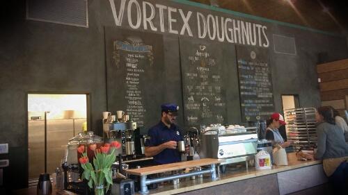 Vortex Doughnuts in Asheville, NC