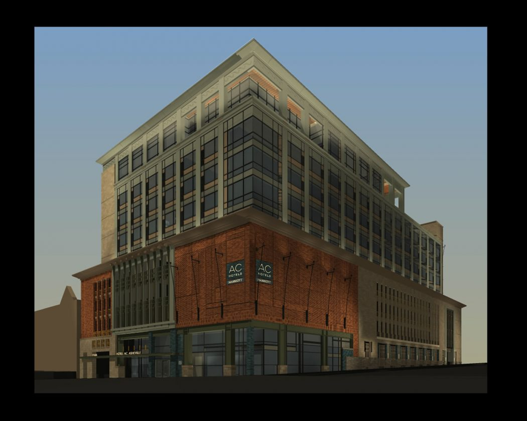 Elevation of new AC Hotel