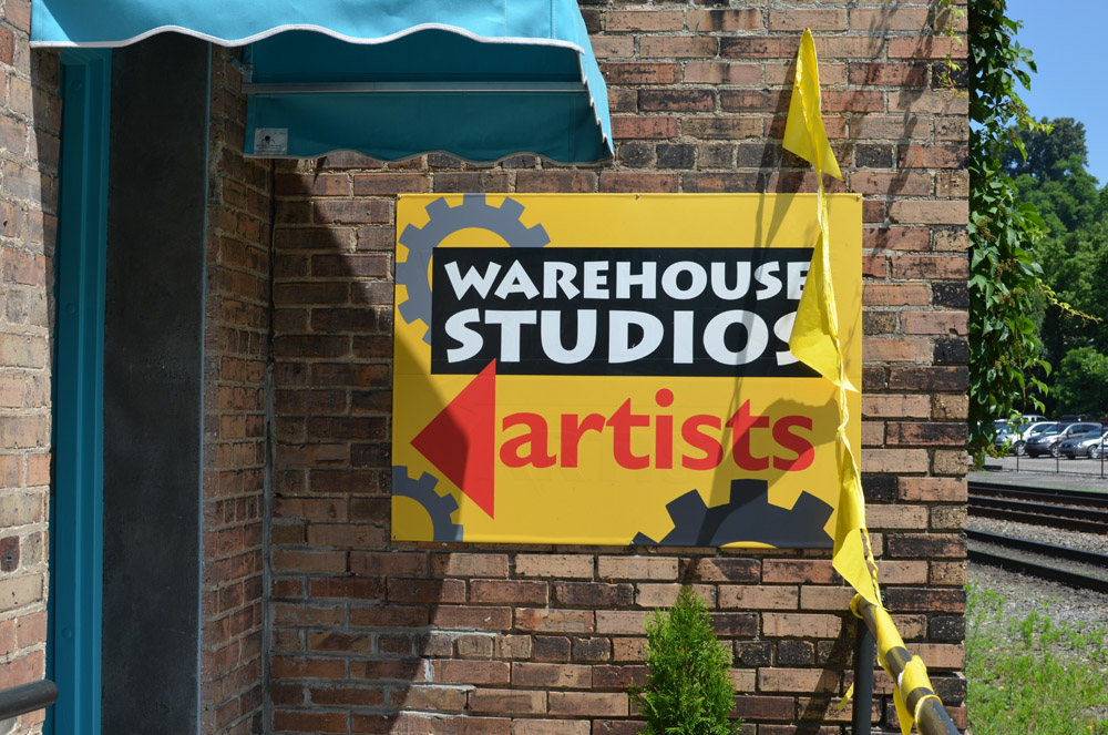 Asheville River Arts District Warehouse Studios