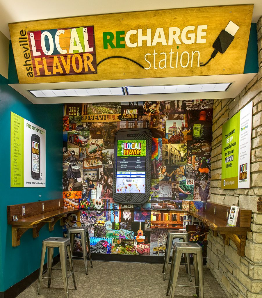 Local Flavor AVL ReCharge station