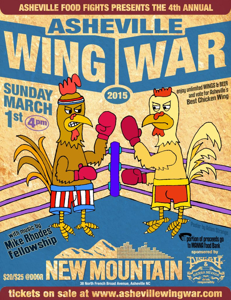 Asheville Wing War 2014