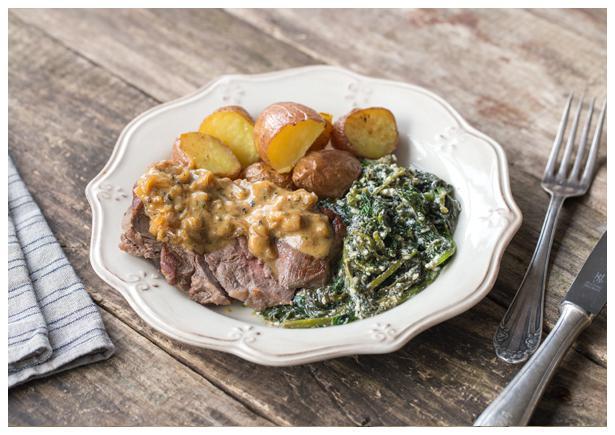 Peppercorn Steak from Uber