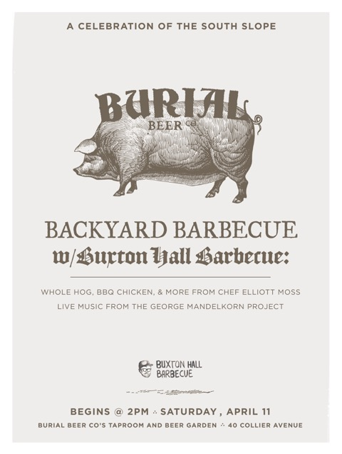 Burial Beer Company and Buxton Hall Barbecue