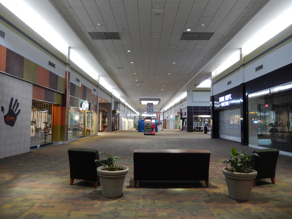 Inside Asheville Mall