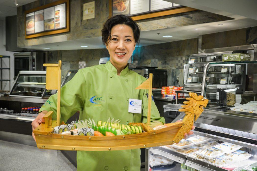 Sushi at Asheville Publix