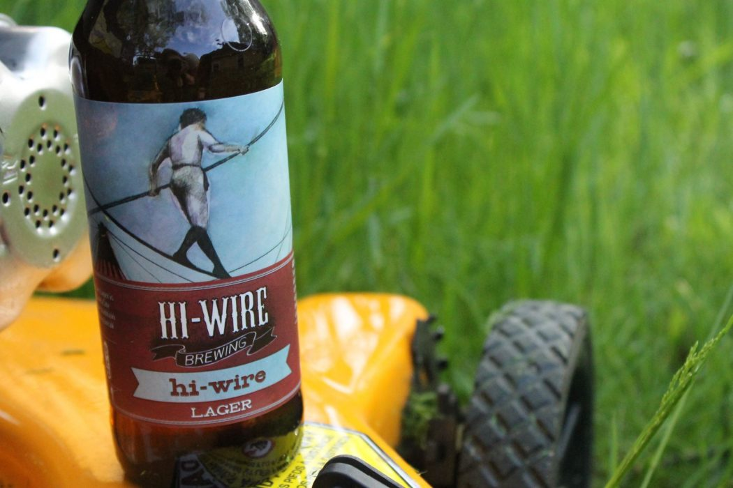 Hi-Wire Brewing amber ale