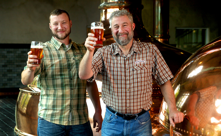 Brian Grossman and Ken Grossman, founders of Sierra Nevada | Photo Courtesy of Sierra Nevada Brewing