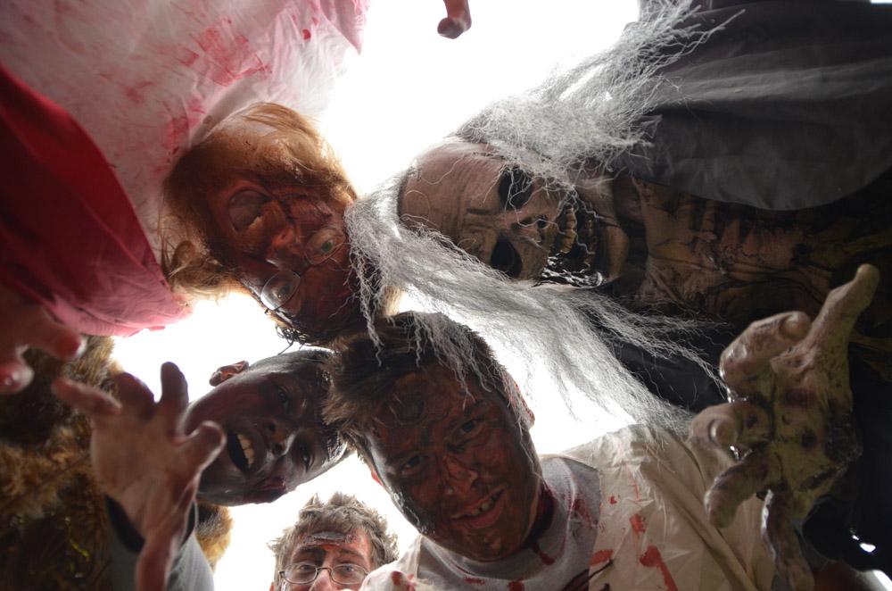 asheville zombie walk