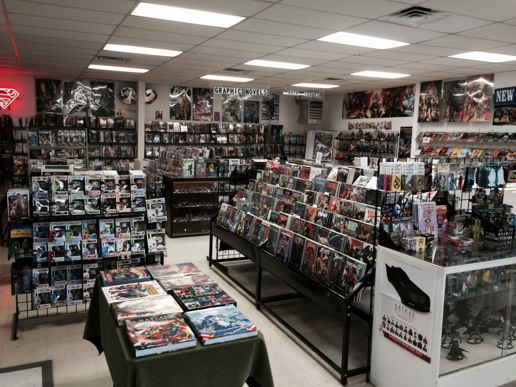 pastimes comic book store