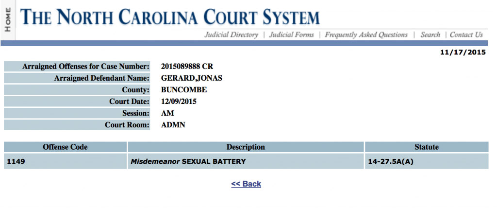 jonas gerard court date