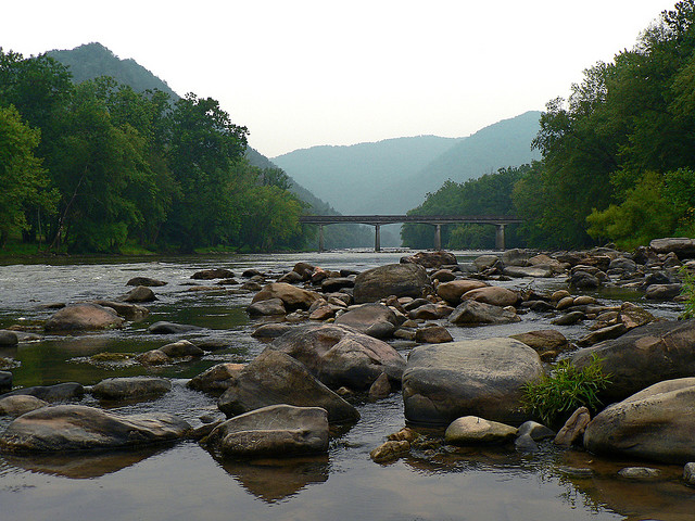 French Broad River Photo by Adam Rice