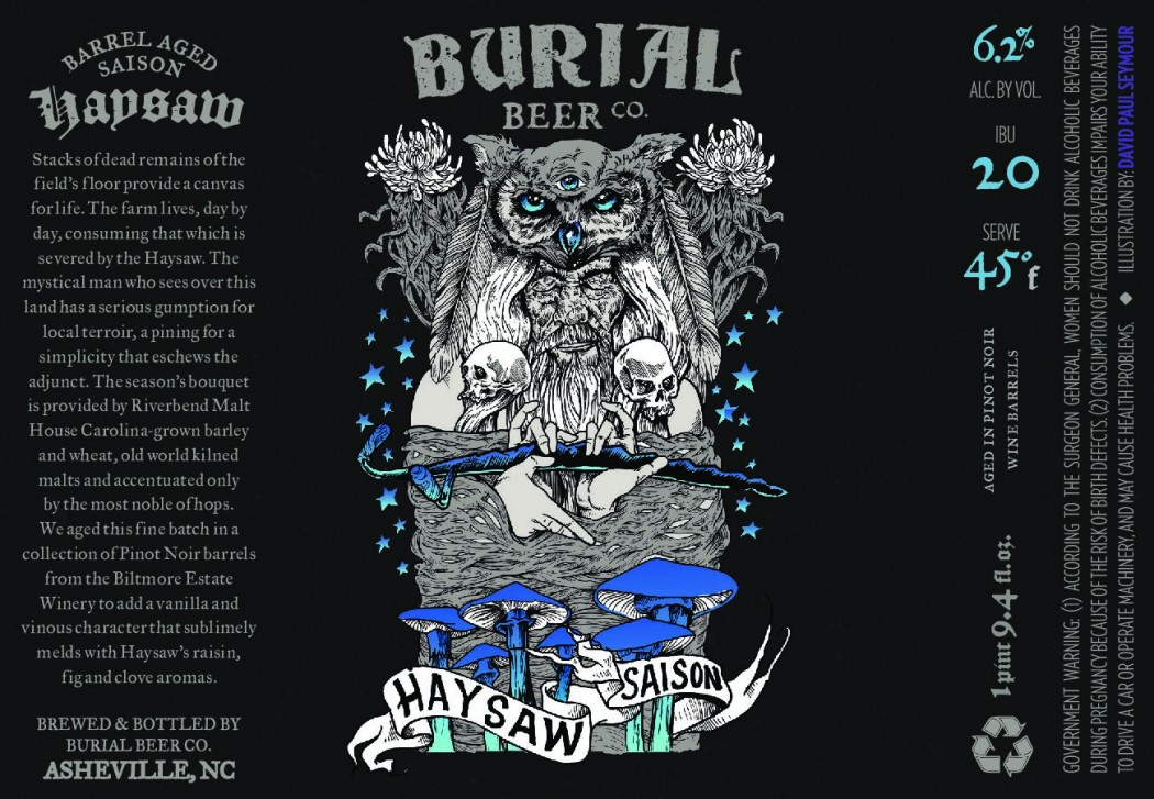 barrel aged hayswaw by burial beer