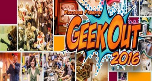5th Annual GeekOut Fan Arts Festival August 12-13th 2016