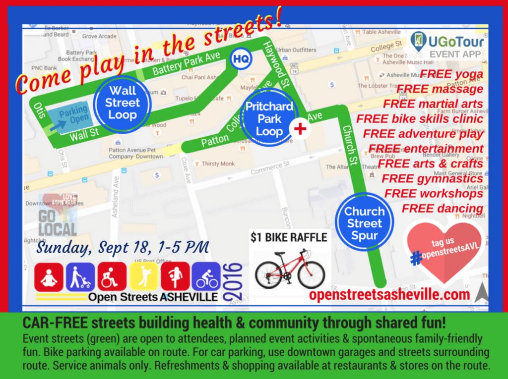 open streets asheville