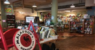 Mary Ellen Hannibal at Malaprops Bookstore & Cafe April 6 2017
