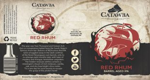 red rhum label