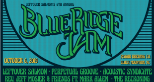 Leftover Salmon 4th Annual Blue Ridge Jam @ Pisgah Brewing Co. Oct 6 2019