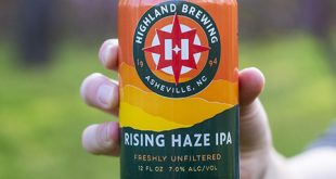 HIGHLAND BREWING ADDS RISING HAZE IPA TO YEAR-ROUND LINEUP IN LATE APRIL