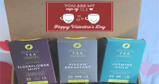 Asheville Tea Company Releases Valentine's Day Gift Boxes