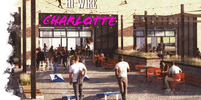 hi-wire brewing charlotte taproom